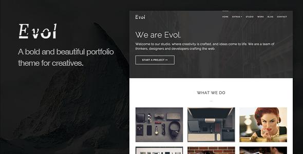 Evol - Agency & Freelance Portfolio Theme