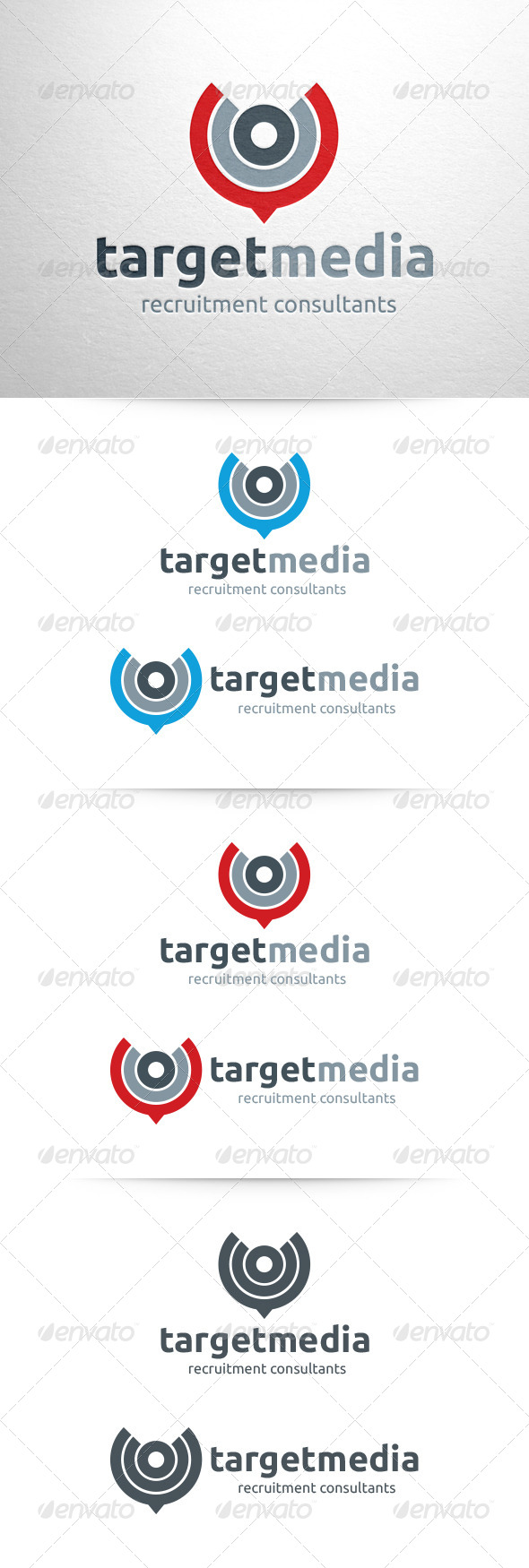 Target Media Logo Template