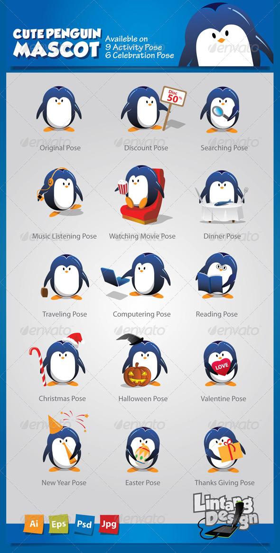 Penguin Mascot-001