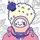 Marie Antoinette Characters and Ribbon - GraphicRiver Item for Sale