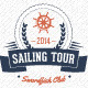 Outdoor Events T-shirts - Sailing Tour - GraphicRiver Item for Sale