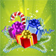 Happy New Year Card with Colorful Gift Boxes - GraphicRiver Item for Sale