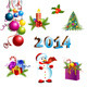 Christmas Decoration  Template Set - GraphicRiver Item for Sale