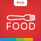 Food - Restaurant PSD Single Page - ThemeForest Item for Sale