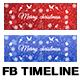 Unique Christmas Facebook Timeline Cover - GraphicRiver Item for Sale