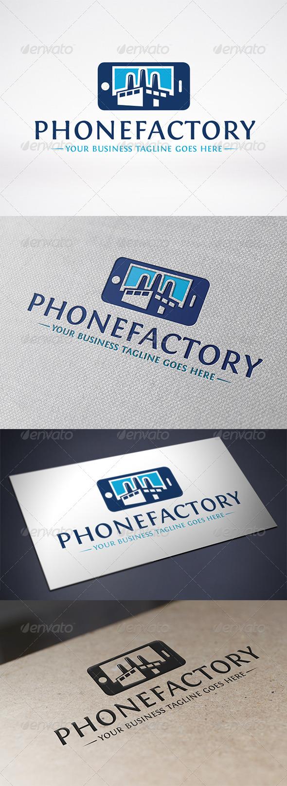 Phone Factory Logo Template