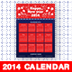 New Year 2014 Calendar - GraphicRiver Item for Sale