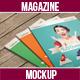 Realistic Magazine Mock-Ups - GraphicRiver Item for Sale