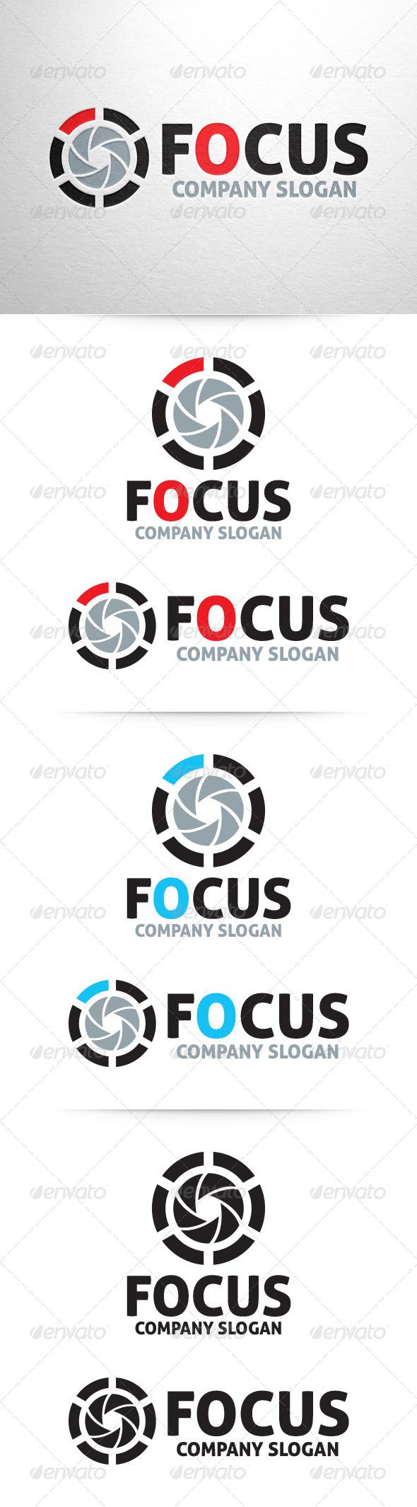 Focus - Photography Logo Template