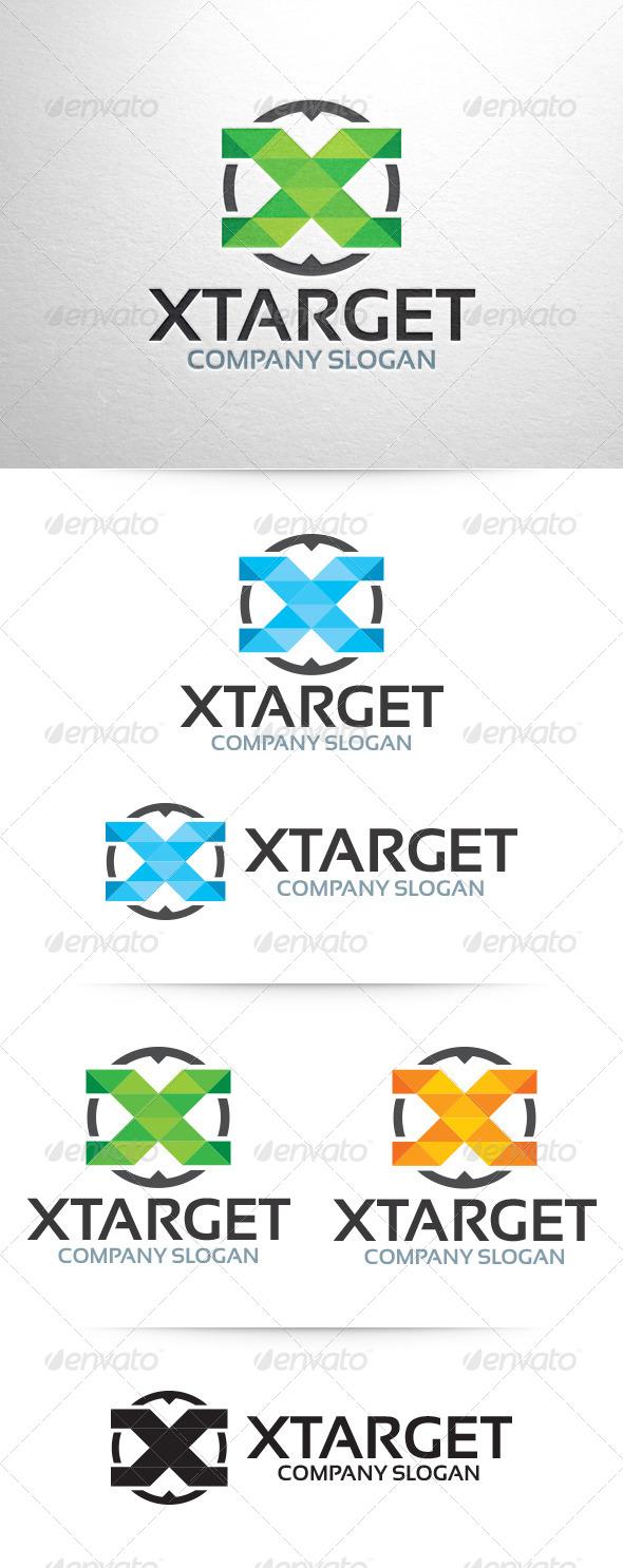 X Target - Letter X Logo