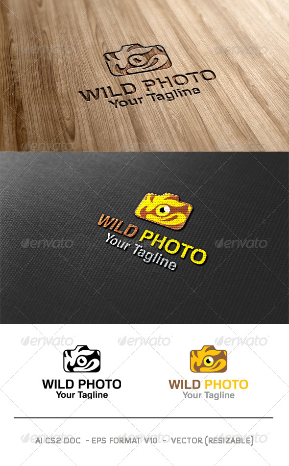 Wild Photo Logo
