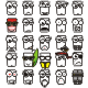 Square Emoticon - GraphicRiver Item for Sale