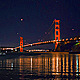 Golden Gate at Night - VideoHive Item for Sale
