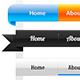 Custom Web Navigation Bars - GraphicRiver Item for Sale