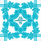 Turquoise Native Ornament Pattern - GraphicRiver Item for Sale