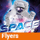 Space Night - Flyer - GraphicRiver Item for Sale