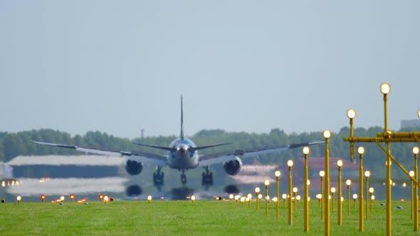 Widevody Airplane Landing