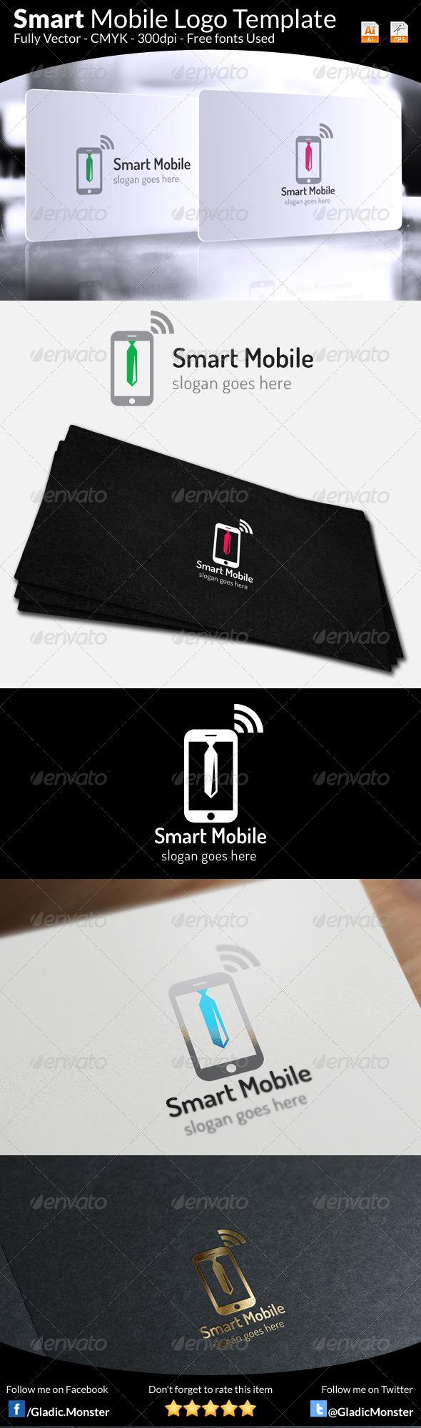 Smart Mobile Logo Template