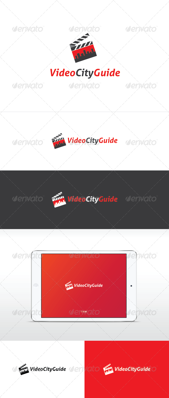 Video City Guide Logo Template