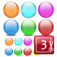 Classic Web 2.0 Shiny Orbs - GraphicRiver Item for Sale