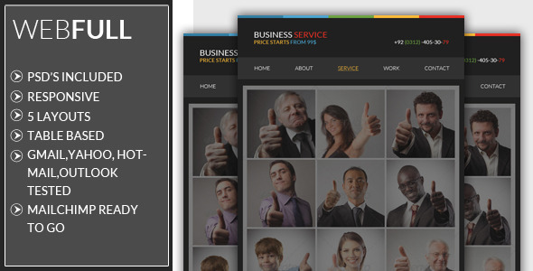 Responsive - Business Email Template