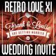 Retro Love Wedding Invite XI - GraphicRiver Item for Sale