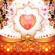 Valentine's Day Card with Hearts  - GraphicRiver Item for Sale