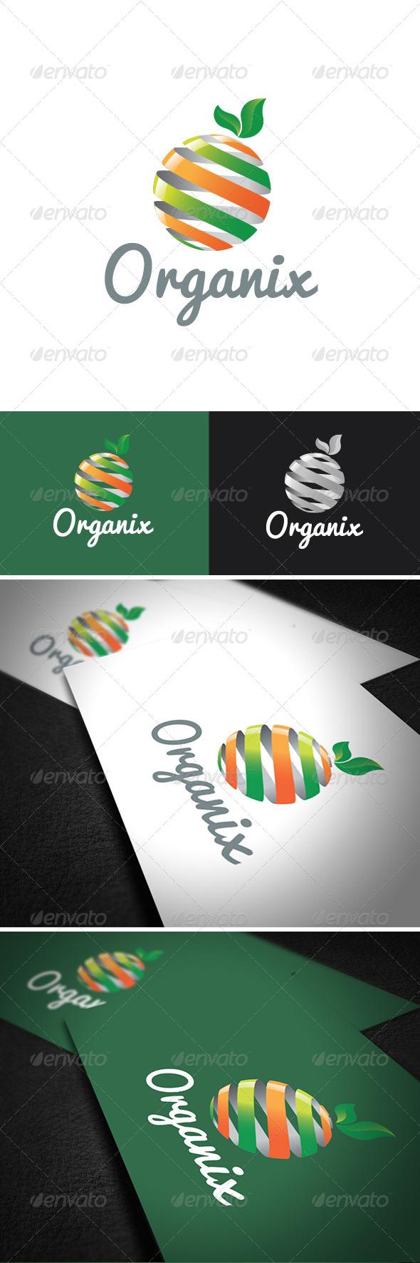 Organix Logo Template