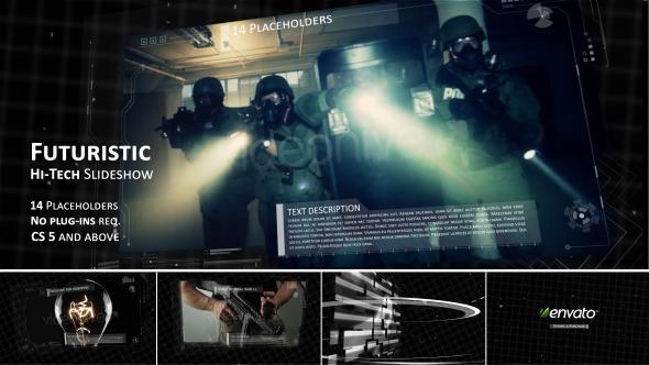 Hi-tech Futuristic Video Slideshow