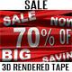 Shop Sale Plastic Tape 3D Renders - GraphicRiver Item for Sale