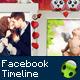 Valentine's Day Facebook Timeline - GraphicRiver Item for Sale