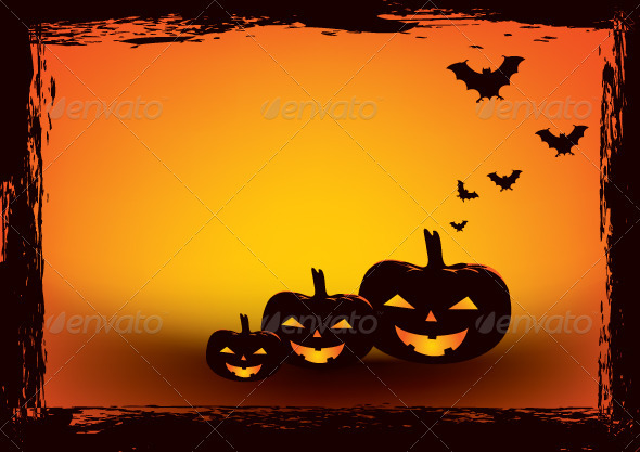 Halloween Poster Background Free.Halloween Poster Graphics Designs Templates From Graphicriver