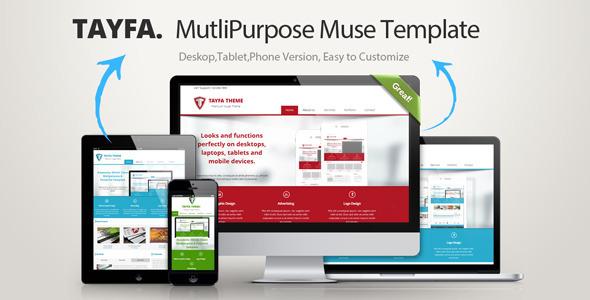 Tayfa Multipurpose Muse Template