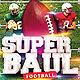 Superboul Football Flyer Template - GraphicRiver Item for Sale