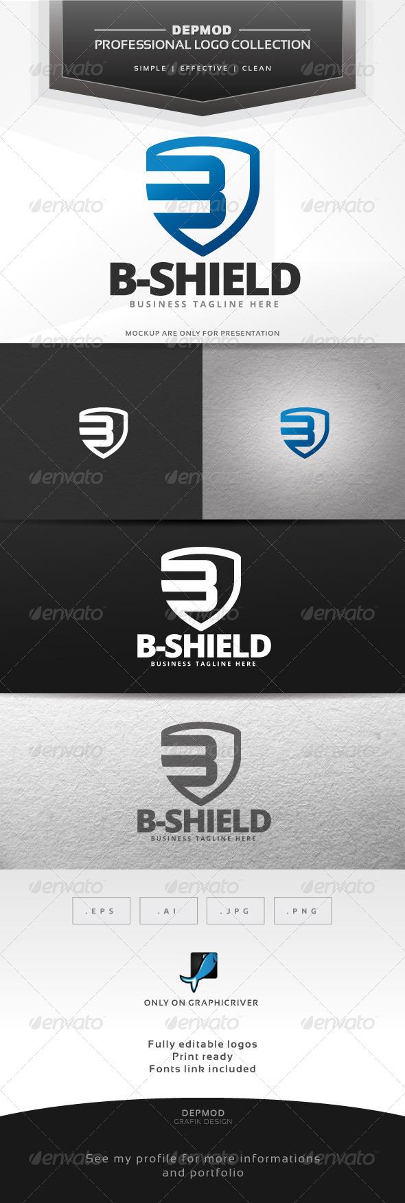 B-Shield Logo