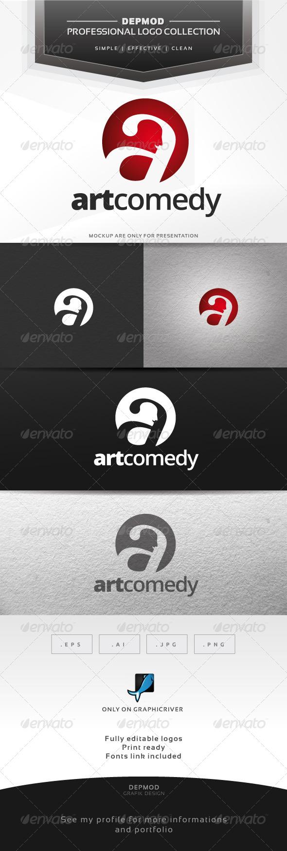Art Comedy Logo
