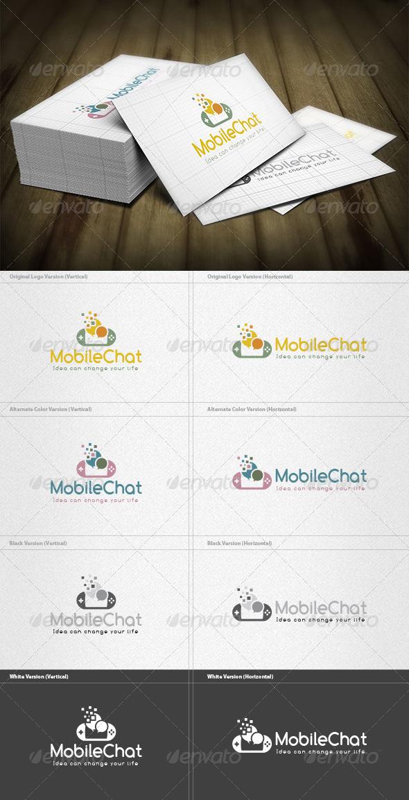 Mobile Chatroom  Logo