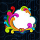 Retro Style Scrolls Background - GraphicRiver Item for Sale