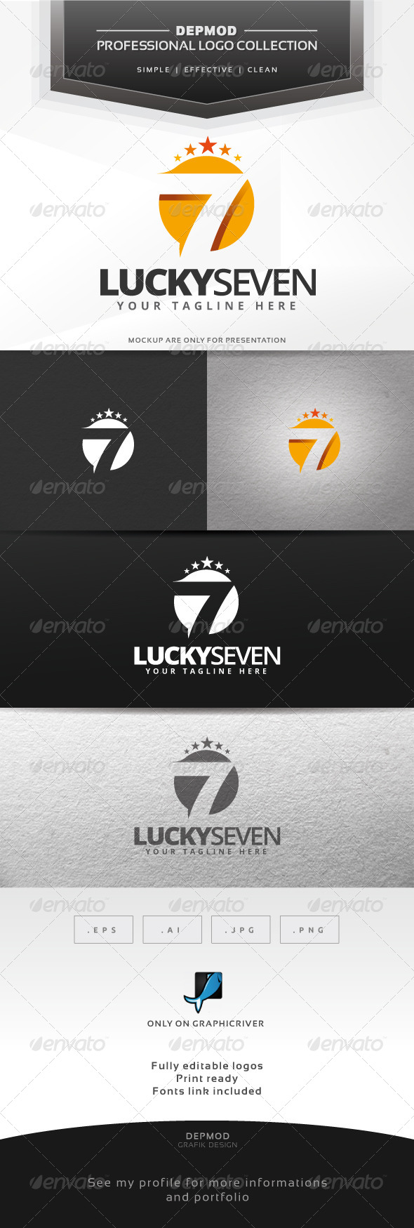 Lucky Seven Logo