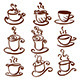 Set of Abstract Cup Illustrations - GraphicRiver Item for Sale