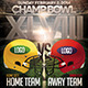 Football Championship Bowl Flyer - GraphicRiver Item for Sale
