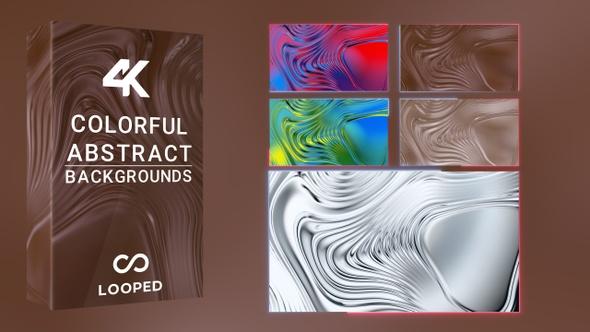 Liquid Shapes Backgrounds Pack