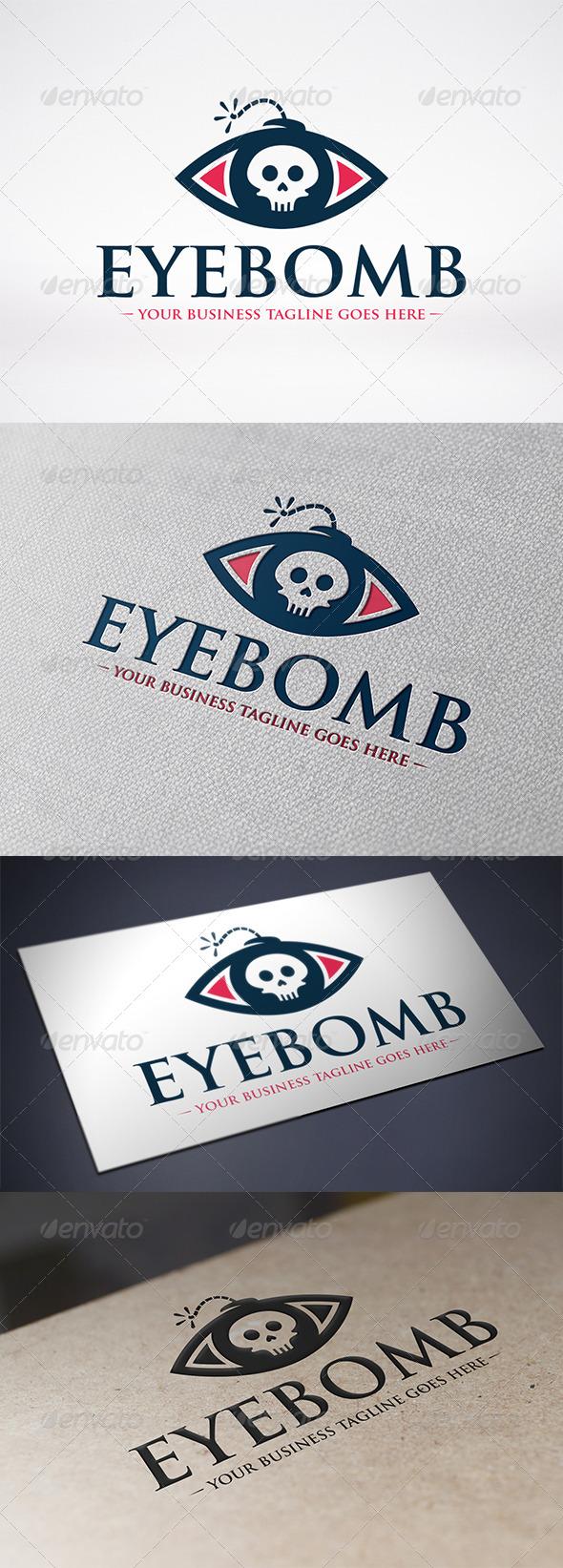 Eye Bomb Logo Template