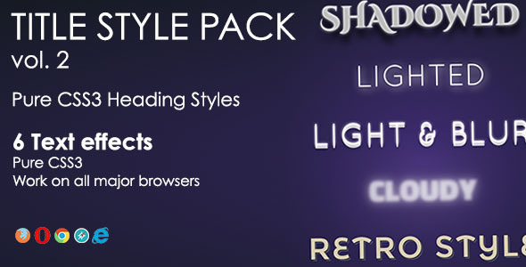 Heading Style Pack - Vol. 2