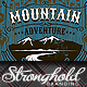 Download Mountain Adventure T-shirt Event Template from GraphicRiver