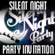 Silent Night Party Invitation - GraphicRiver Item for Sale