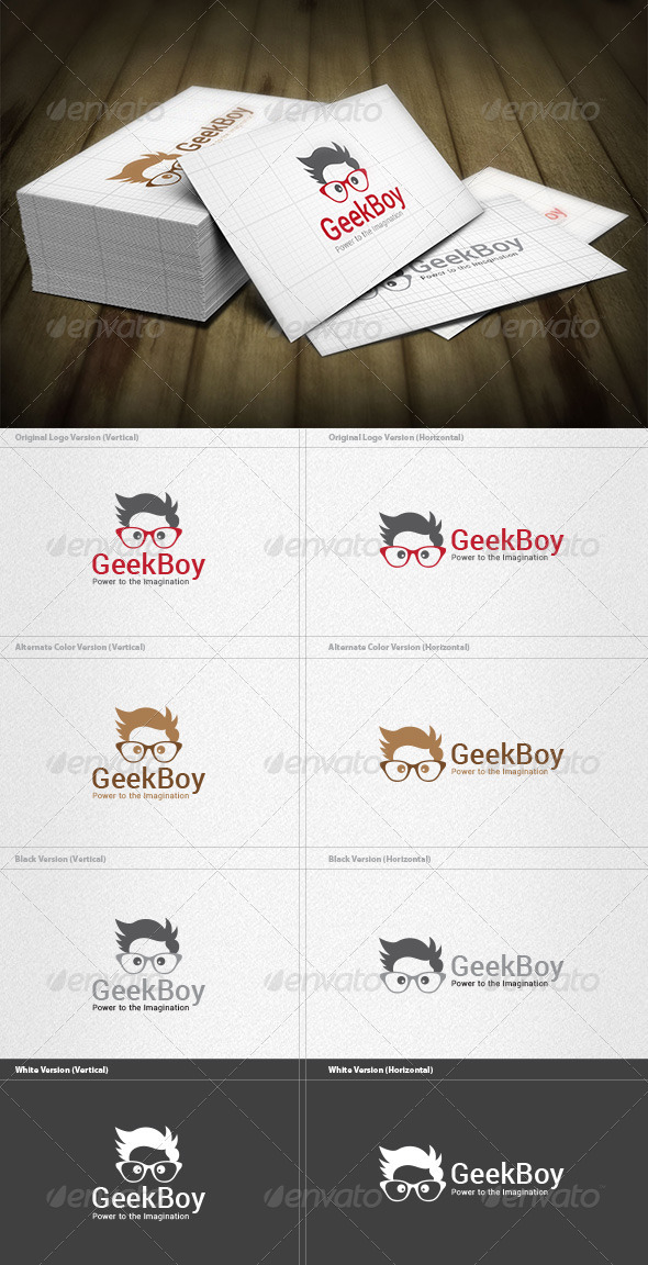 Geek Boy Logo