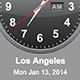 jQuery Time Zone World Clocks