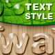 Water Text Styles - GraphicRiver Item for Sale