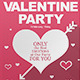 Happy Valentine Day Flyer & Facebook Cover - GraphicRiver Item for Sale